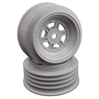 Gambler Front Wheels with 12mm Hex / AE Offset / SILVER