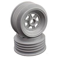 "Gambler Front Wheels for 3/8"" Bearing / Custom Works / GFRP / SILVER"