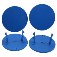 Gambler Snap-In Mud Plugs (Blue)