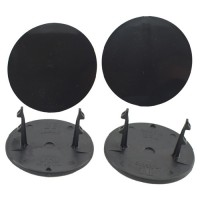 Gambler Snap-In Mud Plugs (Black)