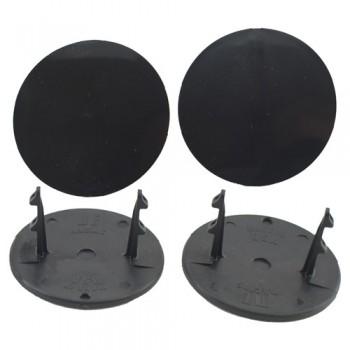 Gambler Snap-In Mud Plugs (Black)