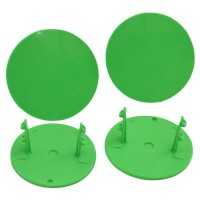Gambler Snap-In Mud Plugs (Green)