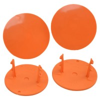 Gambler Snap-In Mud Plugs (Orange)