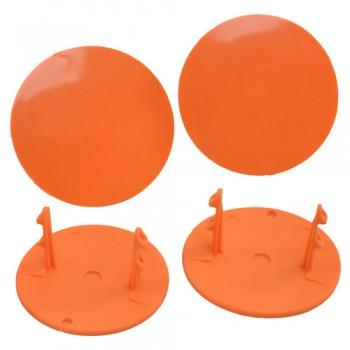 Gambler Snap-In Mud Plugs (Orange)