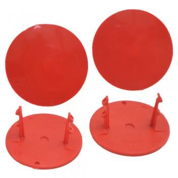 Gambler Snap-In Mud Plugs (Red)