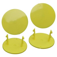 Gambler Snap-In Mud Plugs (Yellow)