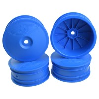 Speedline Buggy Wheels for Associated B64 - B64D / TLR 22 3.0 - 4.0 / Front / BLUE / 4Pcs