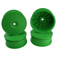 Speedline Buggy Wheels for Associated B64 - B64D / TLR 22 3.0 - 4.0 / Front / GREEN / 4Pcs