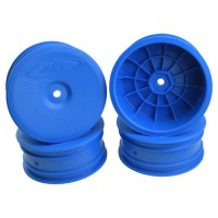 Speedline Buggy Wheels for Associated B6.1 / Kyosho RB6 / Front / BLUE / 4pcs