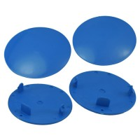 Snap-In Mud Plugs for Speedway Wheels (Blue)