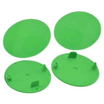 Snap-In Mud Plugs for Speedway Wheels (Green)