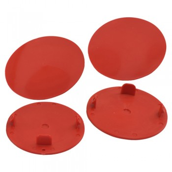 Snap-In Mud Plugs for Speedway Wheels (Red)