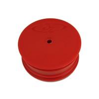 Speedline Wheel for TLR 22 - 22 2.0 / 10mm Hex / Front / RED
