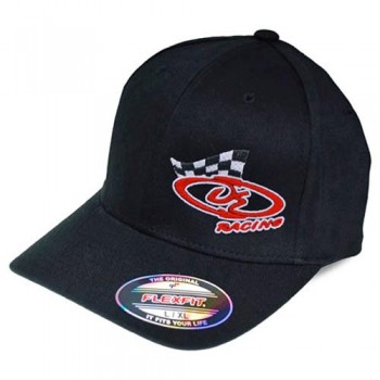DE Racing Logo Flexfit Hat / L-XL