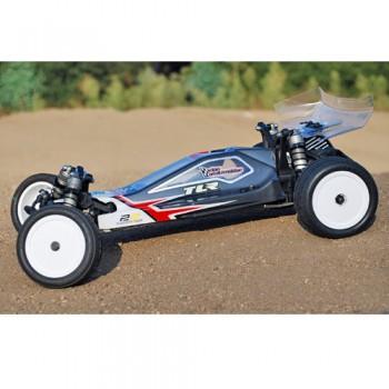 Borrego Wheels for Associated B4.2 - B6 - B64 / TLR 22 - 4.0 / Rear / WHITE