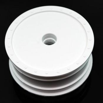 Borrego Wheels for Associated B4 / Bearing / Front / WHITE