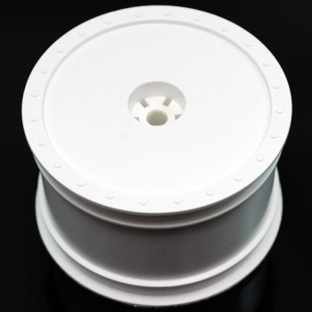 Borrego Wheels for Associated B4 / Pin / Rear / WHITE