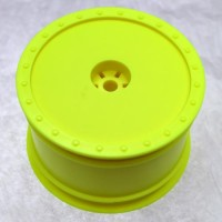 Borrego Wheels for Associated B4 / Pin / Rear / YELLOW