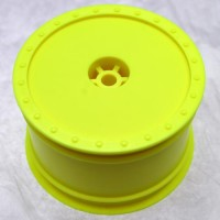 Borrego Wheels for Kyosho RB6 - ZX6 / Rear / YELLOW