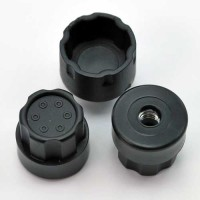 Hub Nutz For DE Racing Trinidad Wheels / Slash Rear Offset / BLACK