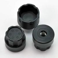 Hub Nutz For DE Racing Trinidad Wheels / Slash Rear Offset / BLACK