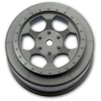 Trinidad SC Wheels for Associated SC5M - SC10 - ProSC / SILVER