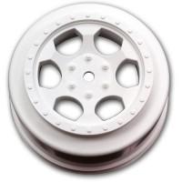 Trinidad SC Wheels for Associated SC5M - SC10 - ProSC / WHITE