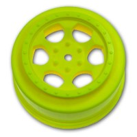 Trinidad SC Wheels for Associated SC5M - SC10 - ProSC / YELLOW