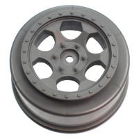 Trinidad SC Wheel for Associated SC5M - SC10 - ProSC / +3mm / SILVER