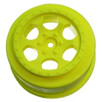 Trinidad SC Wheel for Associated SC5M - SC10 - ProSC / +3mm / YELLOW