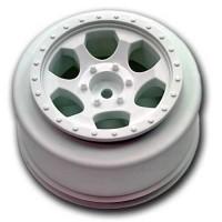 Trinidad SC Wheels for Traxxas Slash Front / WHITE