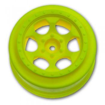 Trinidad SC Wheels for Traxxas Slash Front / YELLOW