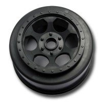 Trinidad SC Wheels for TLR XXX-SCT - SCB / Bearing / Front / BLACK