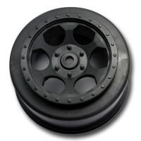 Trinidad SC Wheels for TLR XXX-SCT - SCB / 12mm Hex / Rear / BLACK